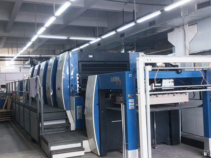 KBA162 offset printing machine