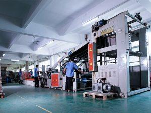 auto paper mounting machine