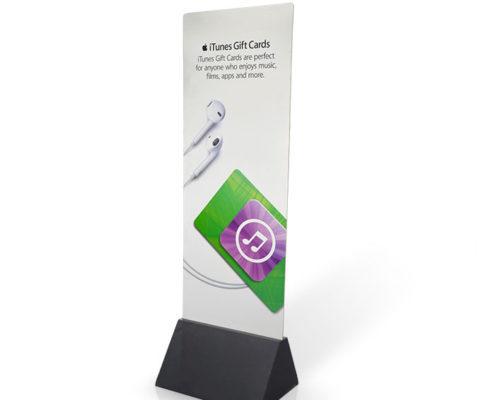 custom cardboard advertising display standee