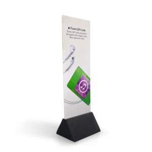 custom dardboard advertising display standee