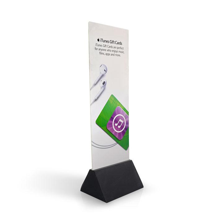 custom dardboard advertising display standee