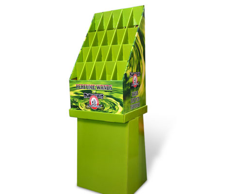 custom retail floor display bin