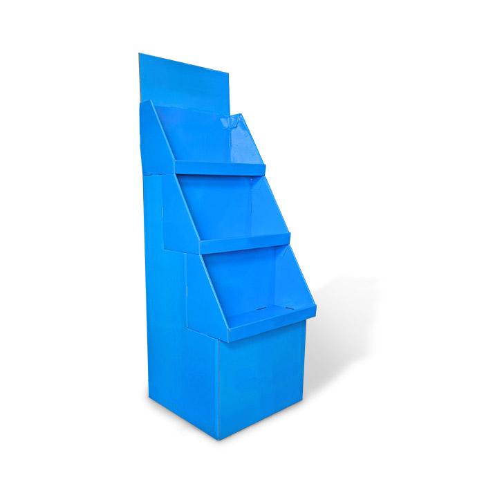 free standing display units