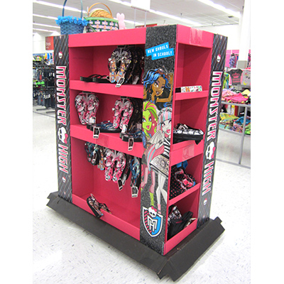 monster high pallet display