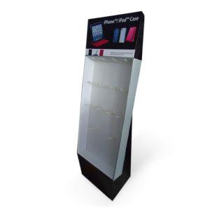 cardboard mobile accessories hook display