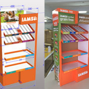cardboard display design
